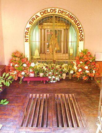 Santa Ana Church - Interior of the Capillita de la Virgen del Pozo
