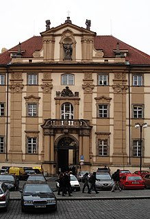 National library in Prague.