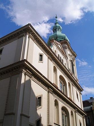 Evangelical Church of Czech Brethren - Evangelical Church of the Savior in the Old Town of Prague – main church of the ECCB