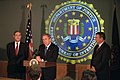 President Bush addresses the media during a tour of FBI headquarters.jpg