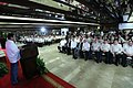 President Rodrigo Duterte delivers a message to the new officers of the PCCI, Philexport, ECOP and PFA.jpg