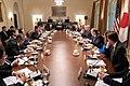 Prime Minister Shinzo Abe of Japan Visits the White House (33855753508).jpg
