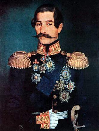 Principality of Serbia - Image: Prince Alexander I w