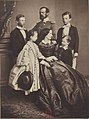 Prince Regent Luitpold, his wife with their children.jpg