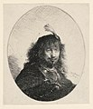 Print, Rembrandt with Plumed Hat and Lowered Sabre, 1634 (CH 18383895-2).jpg