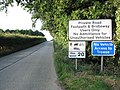 Private road to Whitlingham Sewage Works - geograph.org.uk - 1391772.jpg
