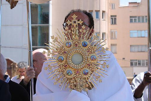 Procesión Custodia. Santuario San José de la Montaña