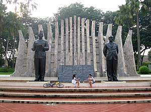 Proclamation of Indonesian Independence - The monument commemorating the Indonesian Declaration of Independence