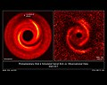 Protoplanetary Disk Simulated Spiral Arm vs Observational Data.jpg