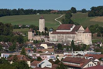 Prince-Bishopric of Basel - Image: Pruntrut Schloss