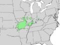 Prunus hortulana range map 3.png
