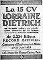 Publicité Lorraine Dietrich 24 Heures du Mans 1925.jpg