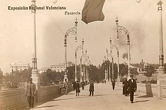Bridge of the Exposición Regional Valenciana 1909 - Bridge of the Exposición Regional Valenciana