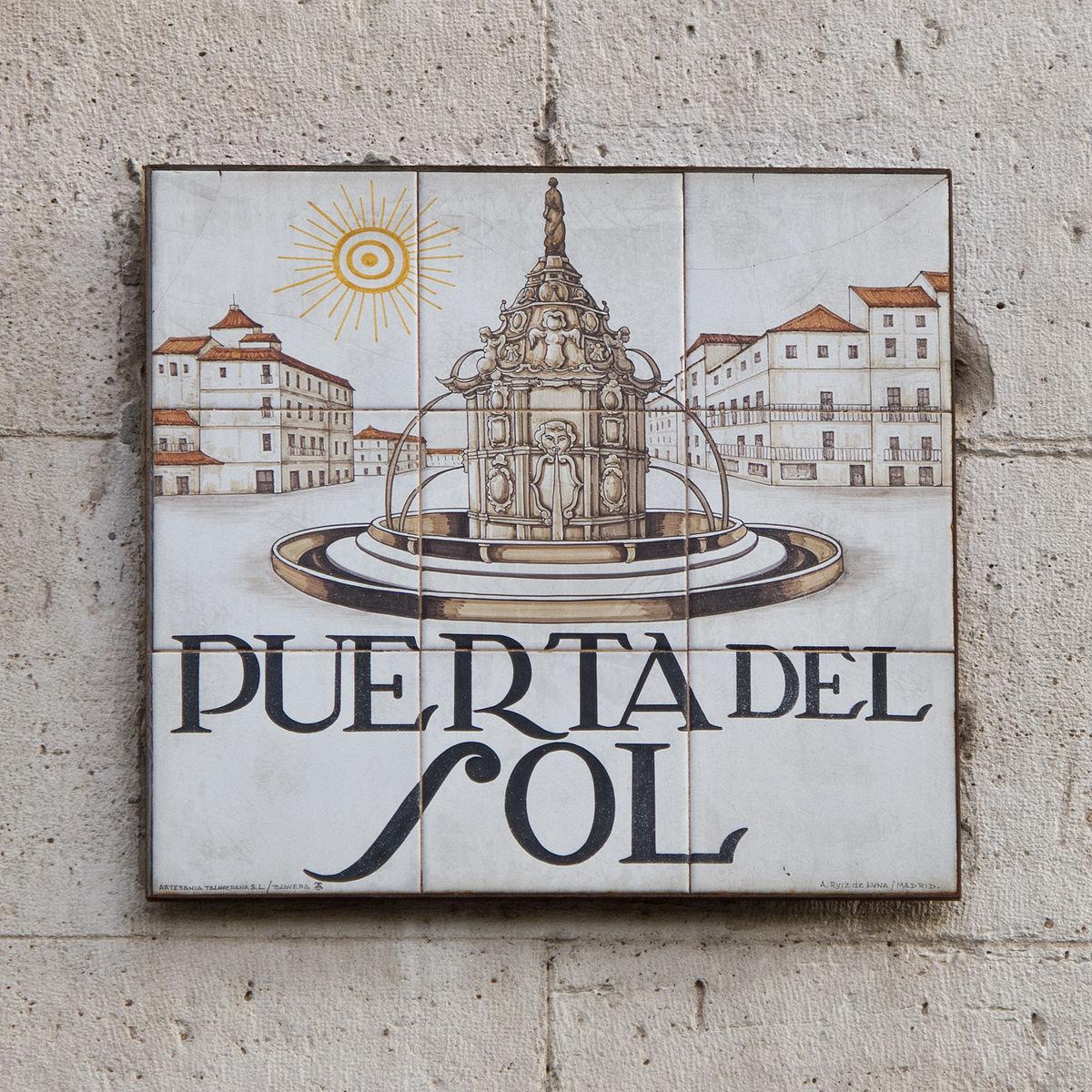 Puerta del sol wikipedia for Puerta 7 foro sol