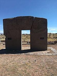 Puerta Del Sol Tiwanaku Wikipedia La Enciclopedia Libre