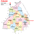 Punjab district map 2014.png