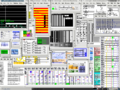 Pure Data with many patches open (netpd project).png