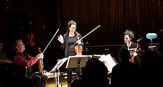 Quatuor Bozzini - Image: Quatuor Bozzini au La Sala Rossa