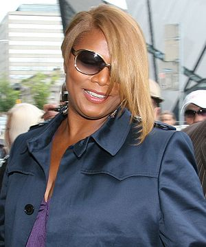 Queen Latifah at the 2008 Toronto Internationa...