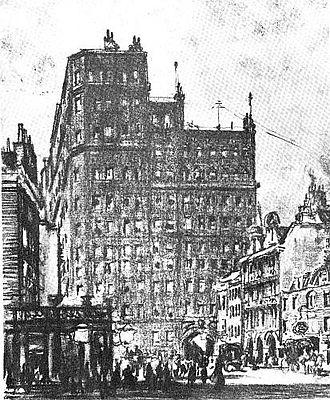 Queen Anne's Mansions - Queen Anne's Mansions in 1905.