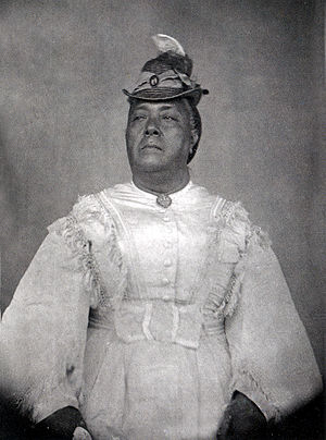 Sālote Lupepauʻu - Queen Sālote in 1874, portrait taken by Frederick Hodgeson, official photographer of the ''Challenger'' expedition