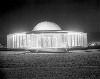 Queen Elizabeth Planetarium - The planetarium in 1961