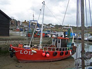 Queenborough town on the Isle of Sheppey in the Swale borough of Kent, England