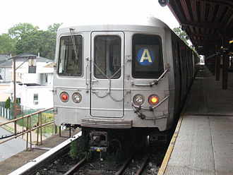R46 (New York City Subway car) - Image: R46 A Far Rockaway 1