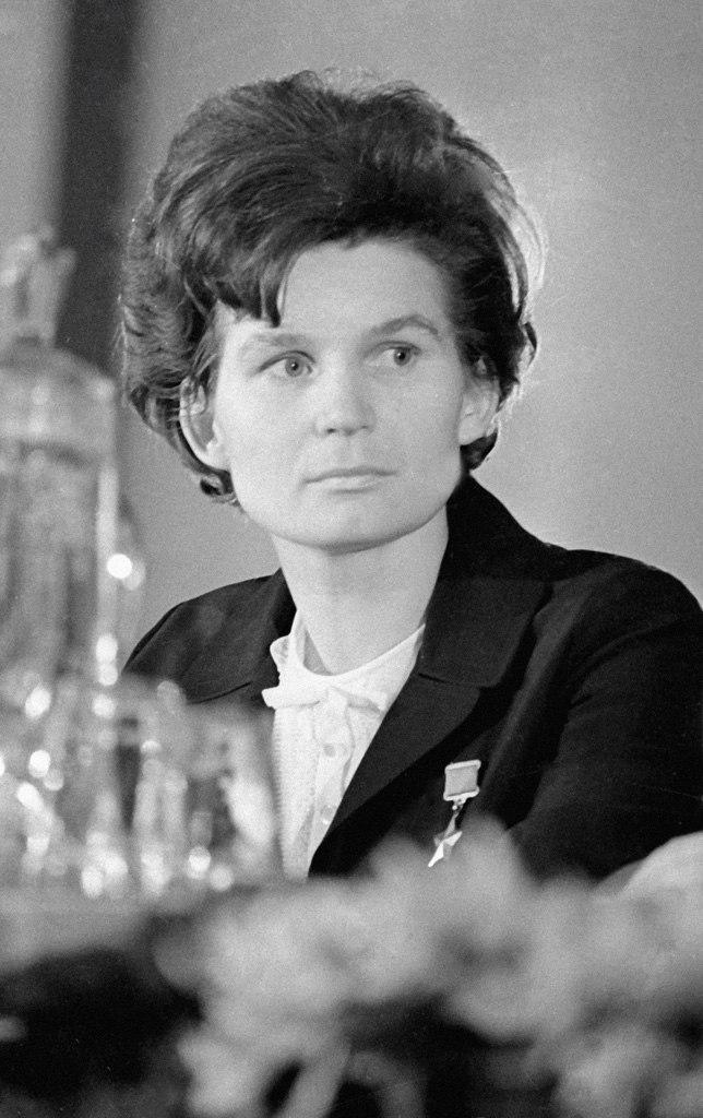 RIAN archive 66514 Valentina Nikolayeva-Tereshkova