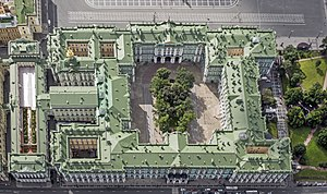 Winter Palace - The Winter Palace, from above