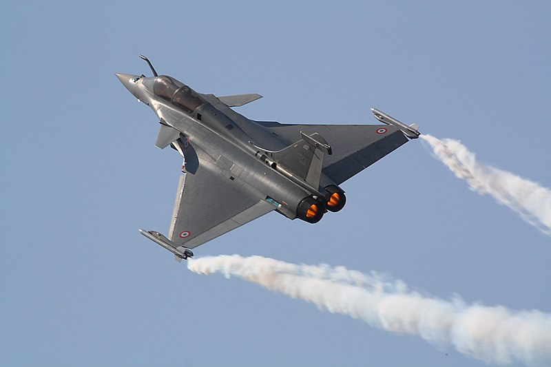 File:Rafale at Aero India 2017.jpg
