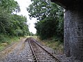 Railway line to Calvert Landfill Site 2 - geograph.org.uk - 1054544.jpg