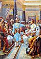 Raja Ravi Varma, Sri Krishna as Envoy.jpg