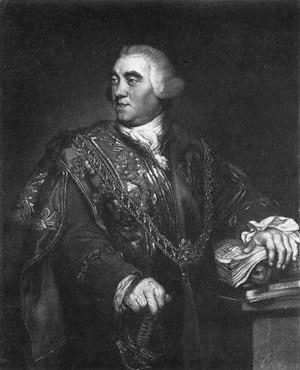 Ralph Bigland - Somerset Herald Ralph Bigland in 1771