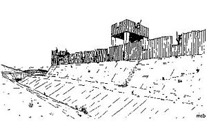 Concangis - What the early defences at Concangis may have looked like