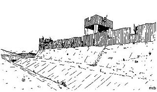 Concangis Roman fort in Duram, England