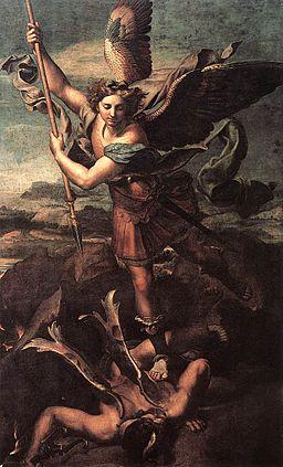 Raphael - St. Michael Vanquishing Satan