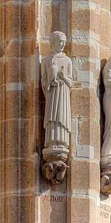 Agilulfus of Cologne Abbot and martyr