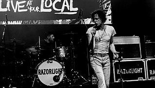 Razorlight English indie rock band