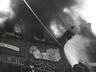 Record Plant - Studio C was destroyed by fire in January 1978.