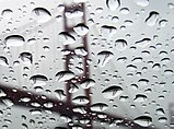 Refraction of Golden Gate Bridge in rain droplets 1.jpg