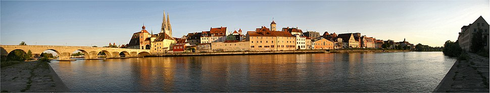 Regensburg Uferpanorama 06 2006