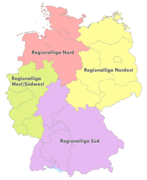 Regionalliga - Image: Regionalliga 1994 2000