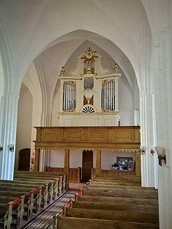 Reinshagen (Lalendorf), Dorfkirche, Orgel (9).jpg
