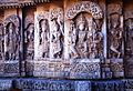 Relief of various Hindu deities in Lakshminarasimha Temple at Haranhalli.jpg