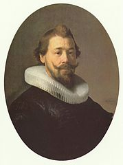 Portrait of a Man with Millstone Collar