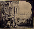 Rembrandt van Rijn - Peter and John at the Gate of the Temple.jpg