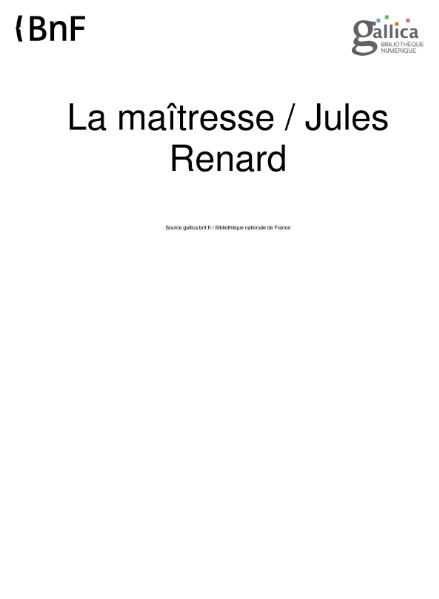 File:Renard - La Maitresse.djvu