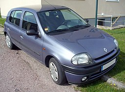 Renault Clio II Phase I Fünftürer 1.2