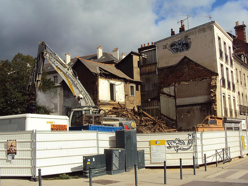 """Fichier:Rennes - La destruction de l'îlot """"Chat qui Pêche"""" - Octobre 2013 - 04.jpg"""